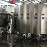 Usine de lait Bouteille PE 3-en-1 Capsuleuse Machine de remplissage de lave-glace