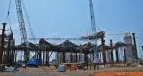 Altos marcos enormes del braguero de la estructura de acero del diseño de la técnica
