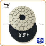 3 Polegada 80mm almofada de polir molhado Buff por pedras