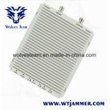 白い三バンドGSM900 Dcs1800 WCDMA2100携帯電話のシグナルのブスター