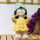 庭の装飾のための卸し売り小型かわいいノームの置物