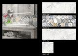 Mattonelle di ceramica lustrate della parete di disegno moderno per la decorazione interna