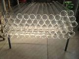 Bailo gran claro del diámetro del tubo de cristal de cuarzo quemador de aceite/tubo de cuarzo