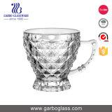 6oz de Hotsell Gegraveerde Mok van de Thee van het Glas met Handvat
