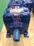 Motores con caja reductora helicoidal reductor de velocidad de la Serie R/eje de las unidades de engranaje helicoidal Foot-Mounted
