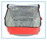 saco do refrigerador da cor vermelha das telas do poliéster 420d