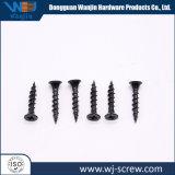 Позолоченные разъемы черного цвета для изготовителей оборудования из нержавеющей стали с круглой головкой самонарезающий винт, обработанной