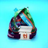 Musik-Festivalkarte NTAG213 NTAG216 RFID gesponnenes Armband des Wristband NFC