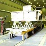 Salle de sablage au jet de circulation du vent -l'automatisation, protection environnementale avec la SGS