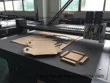 Caja de cartón corrugado plana digital plotter de corte