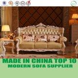 Meubles classiques de sofa de salle de séjour de type européen de bonne qualité