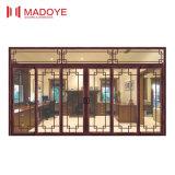 Porte coulissante d'or de bonne qualité d'offre de fournisseur pour l'hôtel