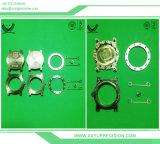 Piezas de torneado del CNC del latón/del cobre de la alta calidad Calor-Que tratan