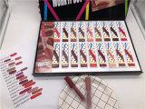 Le travail de maquillage Mac hors jeu 18pcs liquide Case rouge à lèvres mat