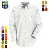 Interactive Mens algodón pesado camisas de trabajo