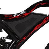 E-Bici grassa popolare del fuoco di 7 velocità 2018 con i cuscini ammortizzatori