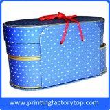 Lleno de colores elegante caja de regalo cajas de embalaje personalizado