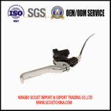 Подгонянные OEM части ручки заливки формы кабеля системы управления