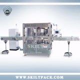 Série haute vitesse Flacon carré moyen de l'étiquetage de la machine rotative