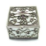 Pequeño rectángulo de joyería del modelo de mármol retro clásico