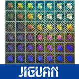 Sticker van het Hologram van de Laser van het Ontwerp van de Douane van het huisdier de Zelfklevende Anti Vervalste Glanzende