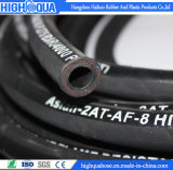 Manguito hidráulico de alta presión de goma de la industria, manguito flexible superficial del paño