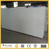 Pietra bianca pura artificiale costruita del quarzo per i controsoffitti/Worktops