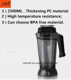 3.6L Mixer van de Controle van de Snelheid van de Mixer van de hoge Capaciteit de Veranderlijke met 2200W