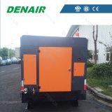 Compressor de ar conduzido Diesel para o projeto da mina de cobre (nenhuma roda)
