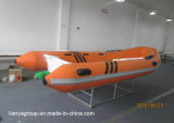 Liya 3.34.2m Stijve Opblaasbaar van de Boot van de Rib van de Redding met Motor Buitenboord