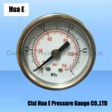 空気の圧力計のAir-Bleed穴の鉄ハウジングとの1.5inches