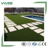 Do jardim artificial o mais atrasado do gramado de Lanscape do alto densidade grama verde plástica