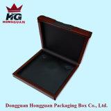 Rectángulo de joyería de madera de pintura laqueado alta calidad del MDF