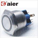Interruttore di spinta illuminato LED dell'anello delle parti dell'elevatore