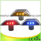 최신 판매 알루미늄 IP68 빨간 LED 태양 도로 장식 못