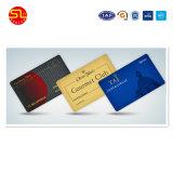 Todas as cores impressas personalizados impressão do cartão de PVC