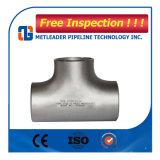 Het Verminderende T-stuk van het roestvrij staal A403 316