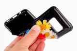 Caja móvil del teléfono celular de la nueva de la llegada flor verdadera del epóxido TPU para el lujo de la caja de los accesorios del teléfono de la galaxia S8 de Samsung