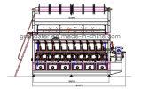 Máquina de Karl Mayer da máquina de confeção de malhas da urdidura do jacquard de Rjpc 4f/1