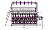 Rjpc 4f/1 자카드 직물 날실 편물기 Karl Mayer 기계