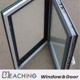 Fenêtre de verre en métal avec son preuve rupture thermique Fenêtre à battant