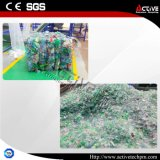Подгонянная пластмасса отхода бутылки любимчика рециркулируя машинное оборудование