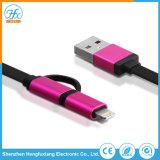 Telefono mobile più in un dato del USB che carica cavo personalizzato