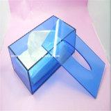 Cadre acrylique fait sur commande de papier de soie de soie avec l'impression