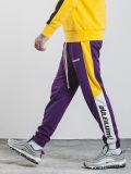 Cool design Trackpants unisexe Couleur de contraste avec le logo d'impression personnalisée