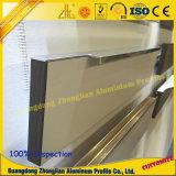 Perfil de alumínio do punho do projeto elegante do OEM para o gabinete de cozinha