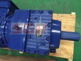 R97 Motorreductor reductor de engranajes helicoidales montados en el pie de máquina transportadora