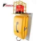 Koontech 비상사태 산업 전화 Knsp-08 VoIP 방수 전화