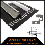 Nuovo profilo di alluminio di figura LED di arrivo U con il diffusore alto del coperchio