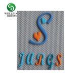 Kundenspezifisches Silikon-Aufkleber-Firmenzeichen, Kleidungs-Kennsatz-Lieferant des Silikon-3D